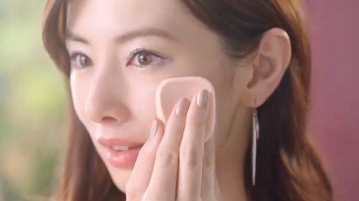 エスプリークCM春2019北川景子の使用色ファンデは?その他アイテムも!